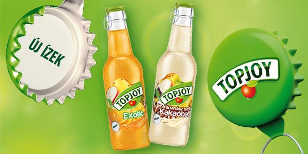 Új kis üveges Topjoy ízek!